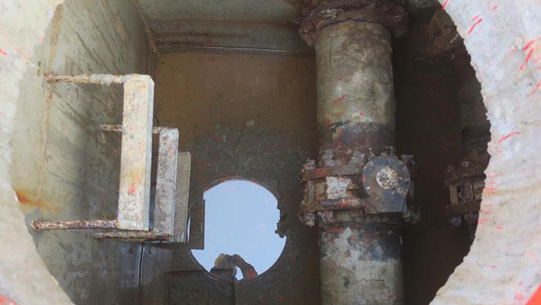 中赛管道为渤西油气处理厂阀门井渗漏综合治理施工方案