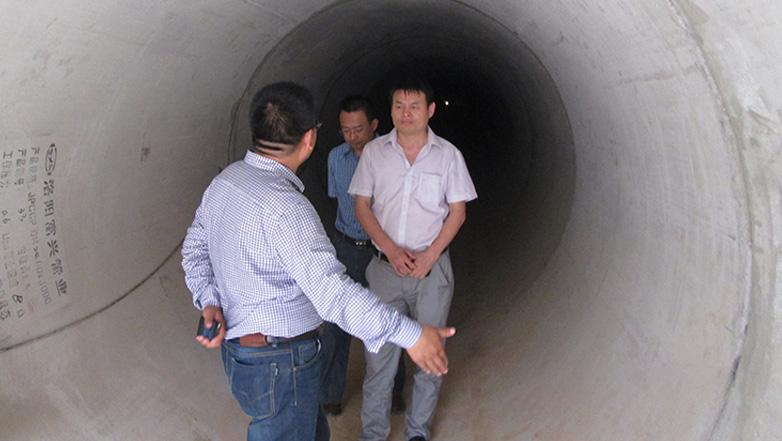 南水北调PCCP管道系统堵漏及防腐工程案例